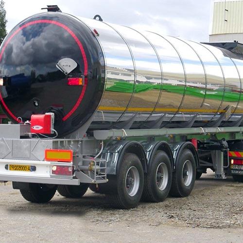 Semirreboques Cisterna para Bitumen