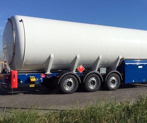 Semirreboques Cisterna para GNL